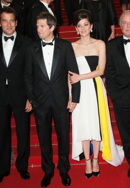 Guillaume Canet et Marion Cotillard en 2013