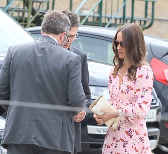 Pippa Middleton a fait sensation avec ce look chic estival