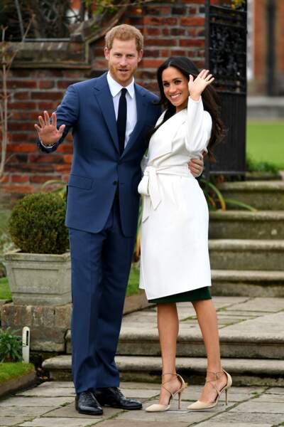 Les fiançailles du prince Harry et de Meghan Markle