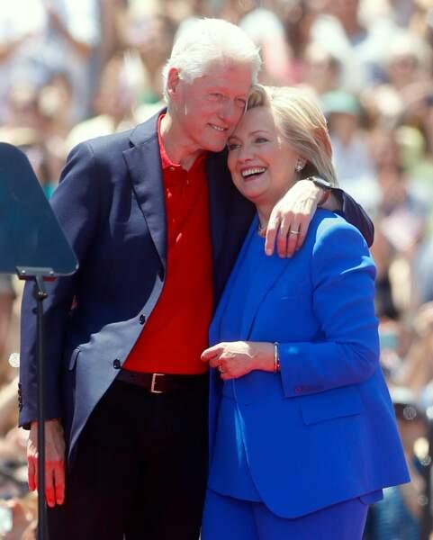 Hillary Clinton et Bill Clinton