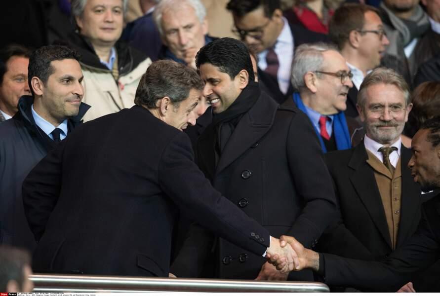 Nicolas Sarkozy et Nasser Al-Khelaïfi