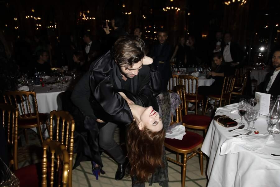 Elodie Frégé et Gian Marco Tavani se retrouvent sur la piste pour une danse endiablée