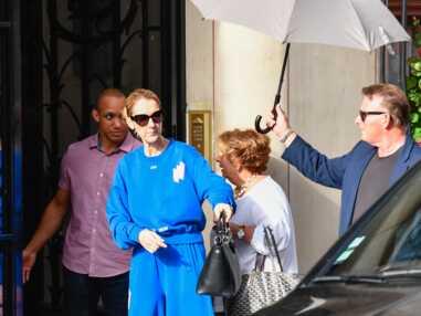 Le look très original de Céline Dion