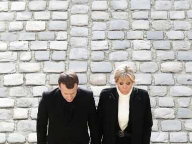 Brigitte et Emmanuel Macron main dans la main aux obsèques de Jean d'Ormesson