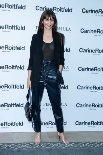 Annabelle Belmondo très sexy à la soirée de lancement du parfum 7 lovers de Carine Roitfeld