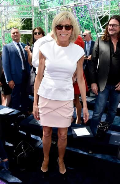En 2015, invitée au défilé Chanel pour la semaine de la mode haute couture