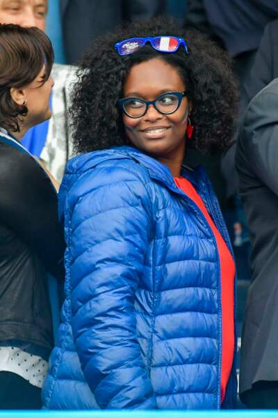 Sibeth NDiaye aux couleurs de la France !