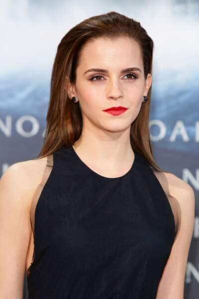 "Le ""wet hair"" discret d'Emma Watson"