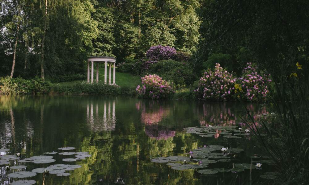 Située dans la campagne anglaise, la propriété est au coeur de 200 hectares de terrain