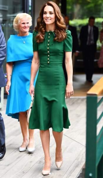 Après trois enfants, l'épouse du prince William affiche une silhouette de rêve