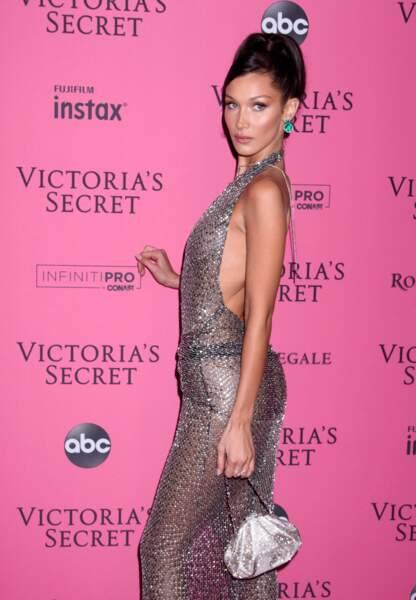 Bella Hadid sublime lors de la soirée Victoria's Secret qui a suivi le défilé
