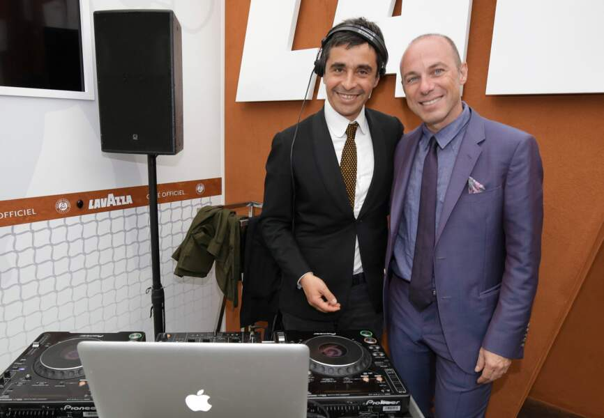 Ariel Wizman et Giuseppe Lavazza