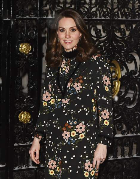 Kate Middleton brave le froid en robe Orla Kiely