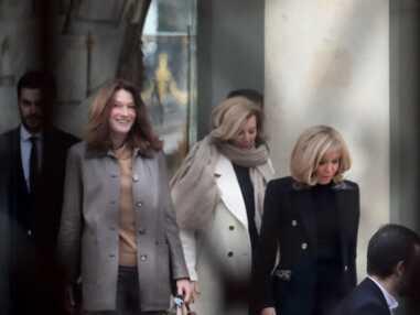 Brigitte Macron : les photos de son déjeuner avec Carla Bruni-Sarkozy et Valérie Trierweiler