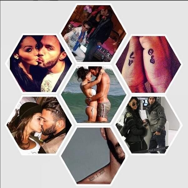 Thomas Vergara célèbre ses trois ans d'amour avec Nabilla sur Instagram