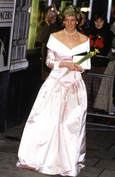 Une vraie robe de princesse en 1988 à Londres