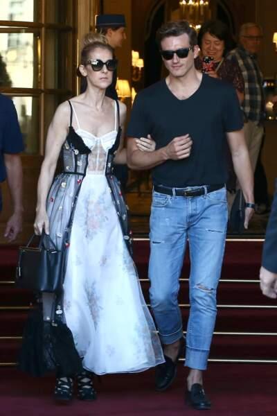 Elle était superbe dans une robe Dior