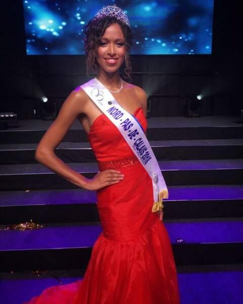 Annabelle Varane, 19 ans, a été sacrée Miss Nord-Pas-de-Calais et tentera de devenir Miss France 2019