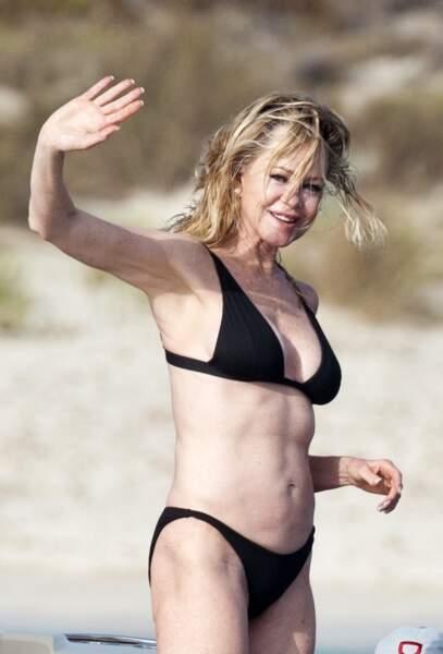 Melanie Griffith fêtera son 62ème anniversaire le 9 août prochain