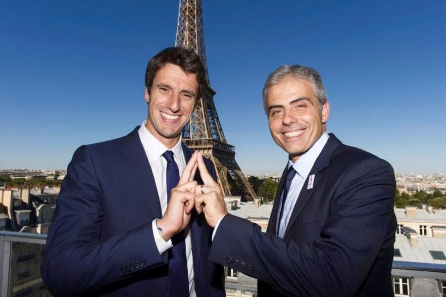 Tony Estanguet et jean-Philippe Gatien
