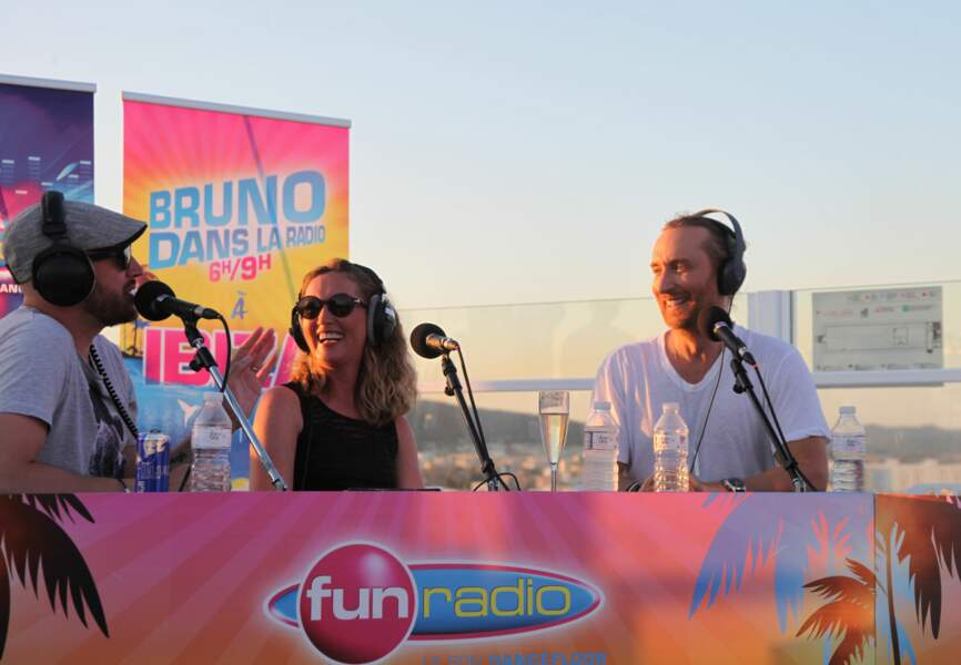 David Guetta en direct des studios Fun Radio à Ibiza