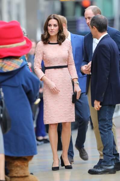 2ème apparition de Kate Middleton depuis l'annonce de sa grossesse