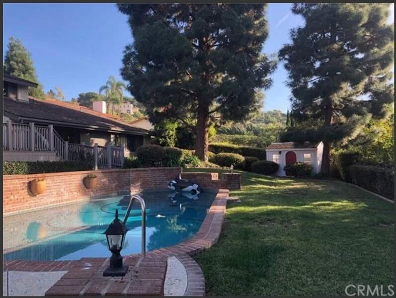 La piscine de la maison où Chester Bennington s'est suicidé