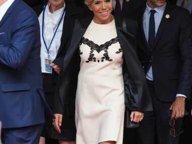 PHOTOS – Brigitte Macron à New York : la robe qui fait parler