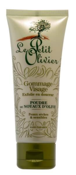 Gommage Corps Poudre de Noyaux d'Olive, Le Petit Olivier, 4,40 €, lepetitolivier.fr