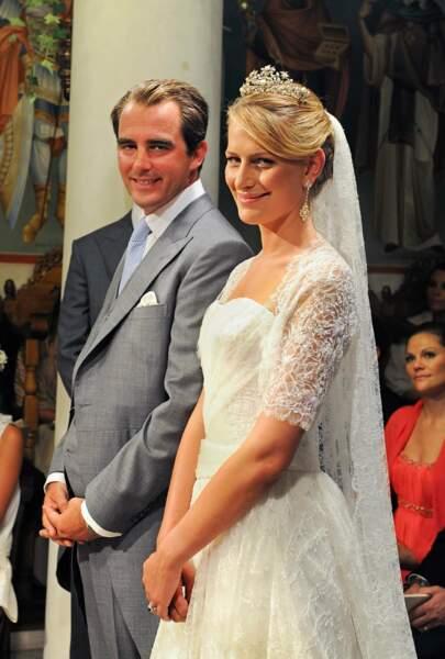 Mariage du prince Nikolaos de Grèce et Tatiana Blatnik à Spetses en Grèce le 25 août 2008