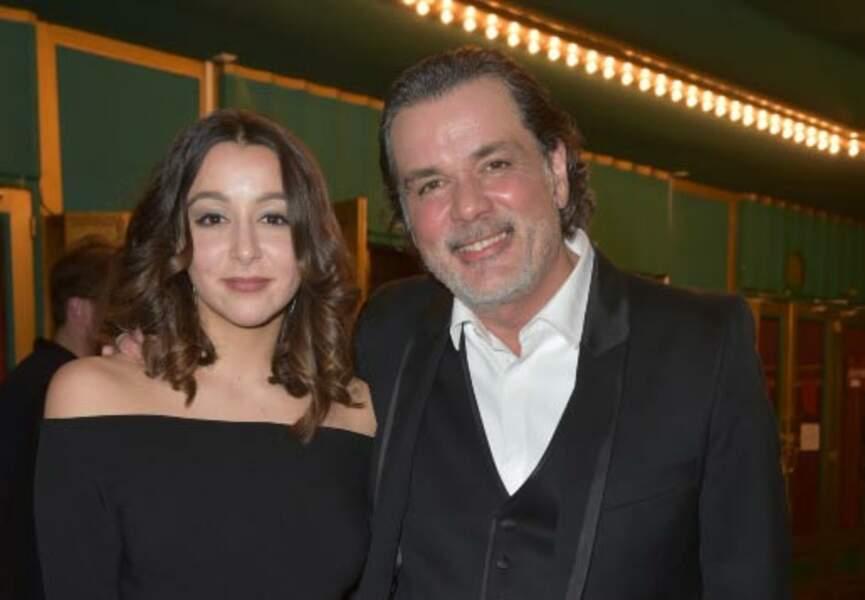 Christophe Barratier et sa fille Violette