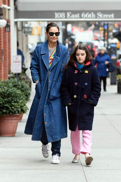 Suri Cruise poursuit désormais sa scolarité au Covent of the Sacred Heart, établissement catholique new-yorkais