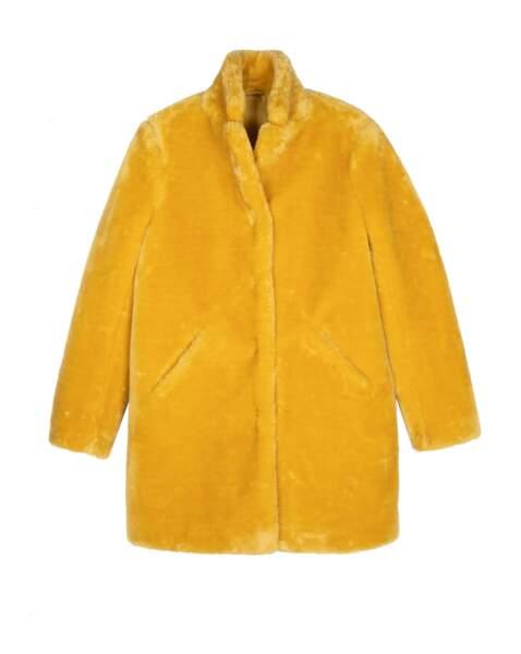 Manteau droit, 169 € (Sud Express).