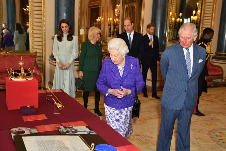 La famille d'Angleterre était réunie en ce mardi 5 mars à Buckingham Palace