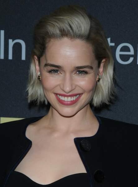 Un carré court rock comme Emilia Clarke