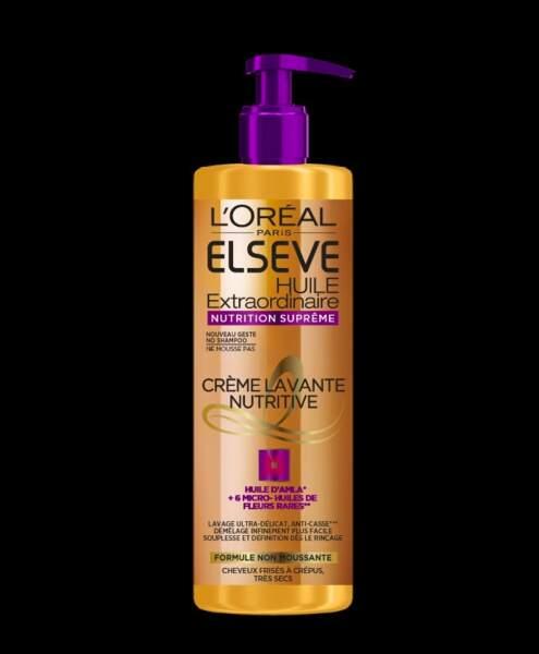 """L'Oréal Paris, Elsève - """"Huile Extraordinaire Nutrition Suprême"""" parfait pour les cheveux frisés à crépus, 6,90 €"""