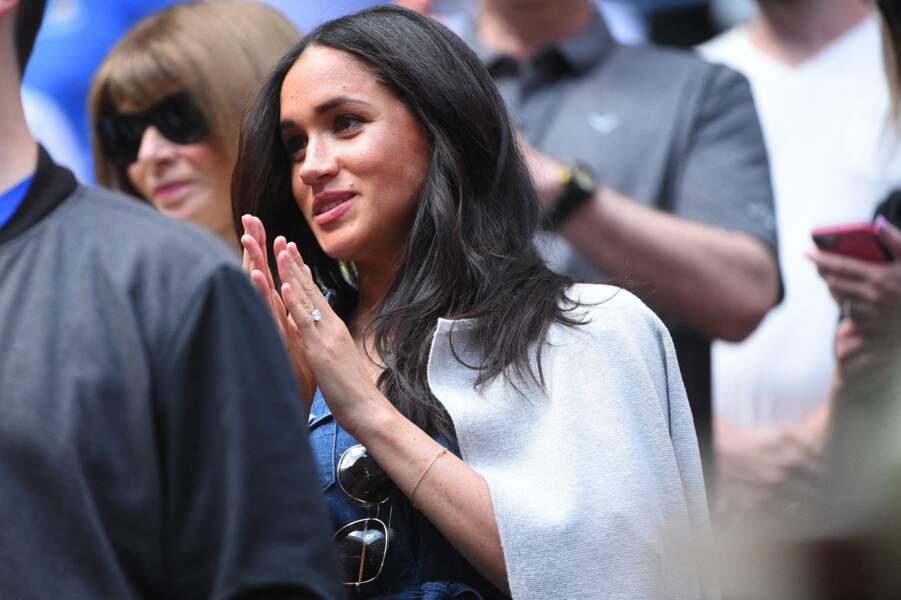 Si Serena Williams a finalement perdu le match, la duchesse a longuement acclamé son amie