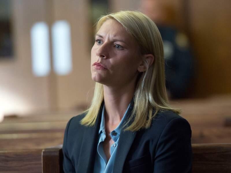 """Claire Danes, dans le rôle de Carrie Mathison dans la série """"Homeland"""""""