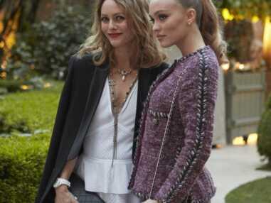 PHOTOS - Vanessa Paradis, Lily-Rose Depp, Anna Mouglalis réunies pour Chanel