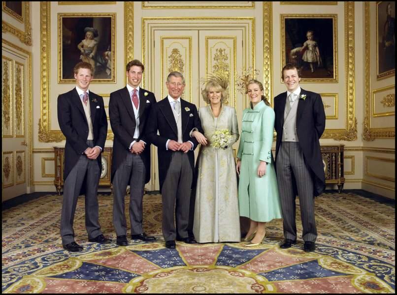 Le prince Charles épouse Camilla-Parker Bowles au château de Windsor, le 9 avril 2005