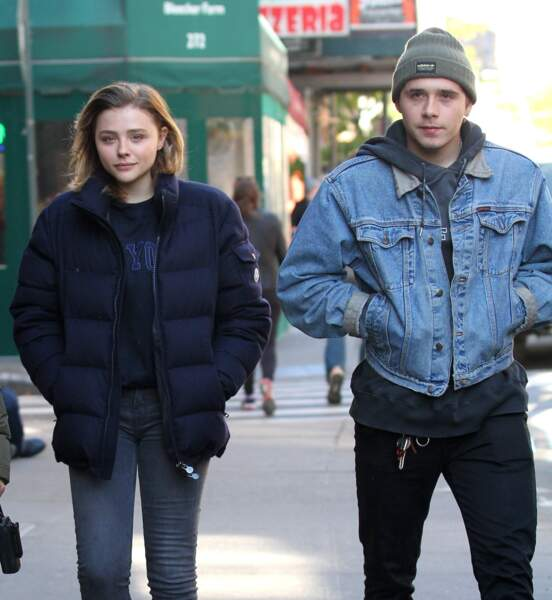 Brooklyn Beckham et Chloe Moretz