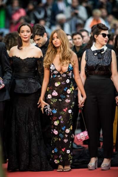 """Zahia Dehar est à Cannes pour défendre le film dans lequel elle joue, """"Une fille facile"""", de Rebecca Zlotowski"""