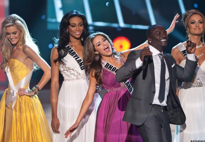 Olivia Culpo au moment de son élection de Miss Amérique