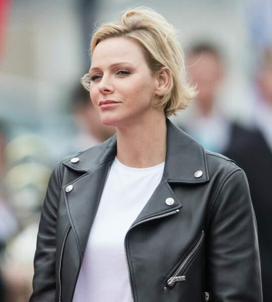 Charlene de Monaco a fait de ses cheevux blonds et courts sa signature