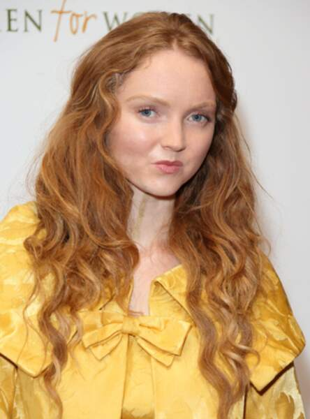 Le roux naturel de Lily Cole