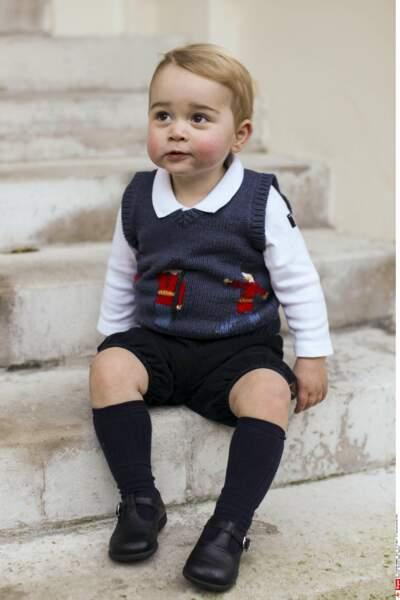 Prince George, âgé d'1 an et 4 mois (novembre 2014)