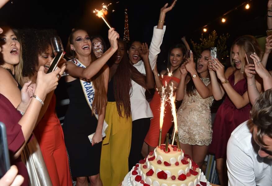 Maëva Coucke fête son 24ème anniversaire