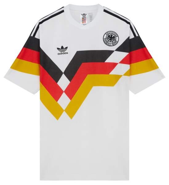 Maillots de Coupe du Monde 1980 et 1990, Adidas Originals Retro Football x Asos, à partir de 46,99 € (asos.fr).