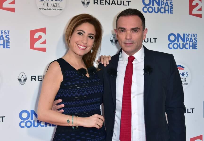 Léa Salamé et Yann Moix