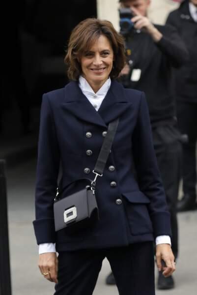 Inès de la Fressange toujours stylée au défilé Chanel